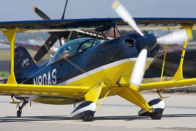 Camarillo Air Show 2010. 1992 Pitts Aerobatics S-2B.