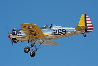 Camarillo Air Show 2010. A Ryan PT-22 from the Commemorative Air Force.