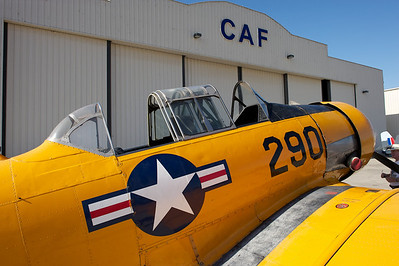 Camarillo Air Show 2010. North American SNJ-5.