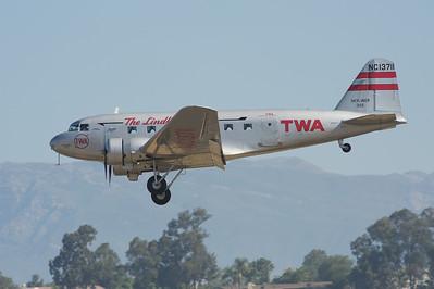 Camarillo Air Show 2010. Museum of Flight Foundation Douglas DC-2.