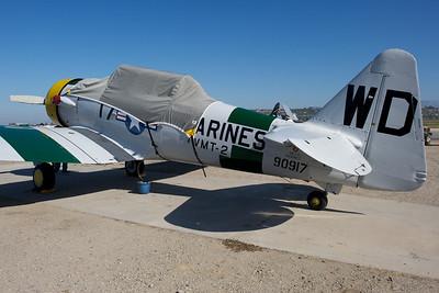 Camarillo Air Show 2010. North American SNJ-5 'War Dog'.