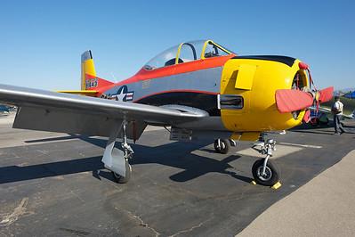 Camarillo Air Show 2010. North American T-28 Trojan.