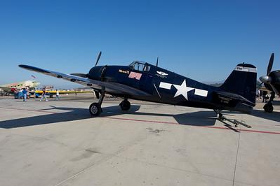 Camarillo Air Show 2010. Planes of Fame Grumman F6F Hellcat.
