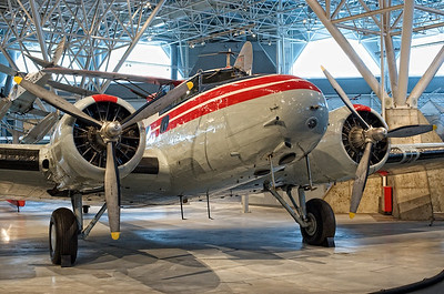 Canada Aviation Museum - Boeing 247D.
