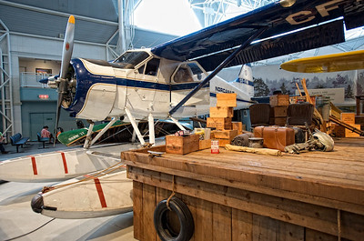 Canada Aviation Museum - the prototype of the fantastic de Havilland Canada DHC-2 Beaver.