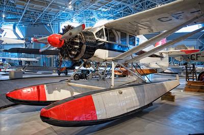 Canada Aviation Museum - Bellanca CH-300 Pacemaker.