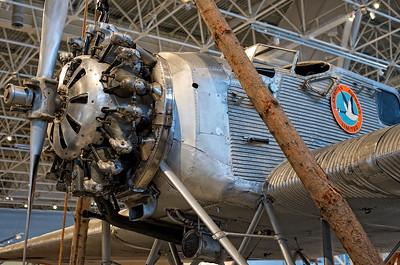 Canada Aviation Museum - Junkers W 34f/fi open cockpit.