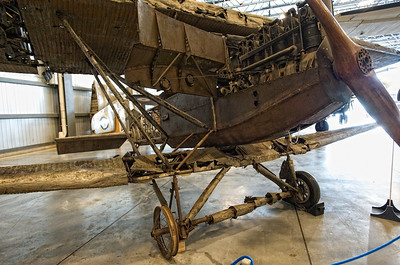 Canada Aviation Museum - A unique Junkers J.I, powered in 1918 by a single 200-hp engine for an empty gross weight of 1766 kg...