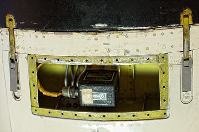 Canada Aviation Museum - Electronic gear underneath the Avro CF-105 Arrow II cockpit, saved after beeing severed.