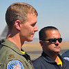 "Major Dave ""Zeke"" Skalicky, F-22 Raptor demo pilot."