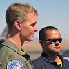 """Major Dave """"Zeke"""" Skalicky, F-22 Raptor demo pilot."""