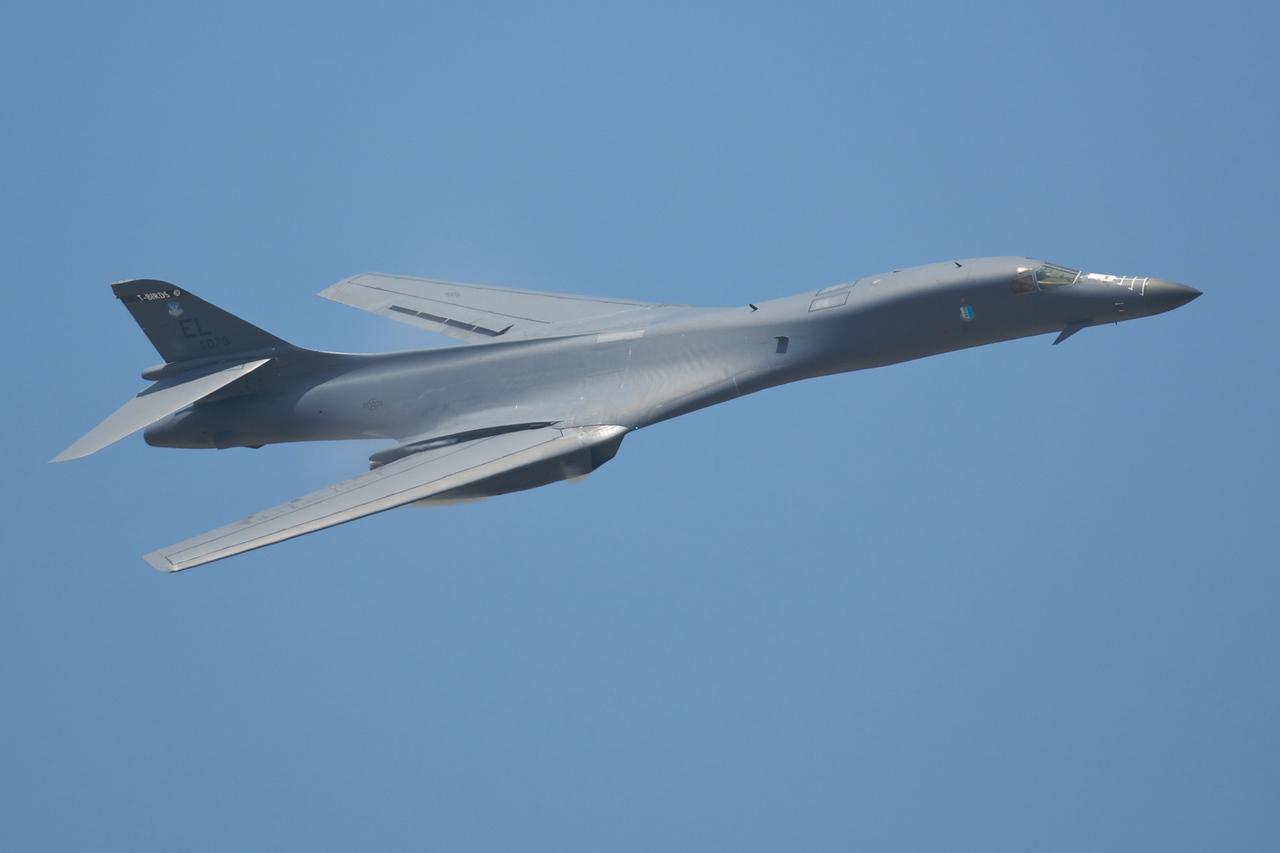 Dayton Air Show 2007, Boeing B-1B