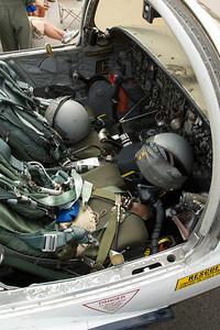 Dayton Air Show 2007, Cockpit d'un T-37 de l'USAF