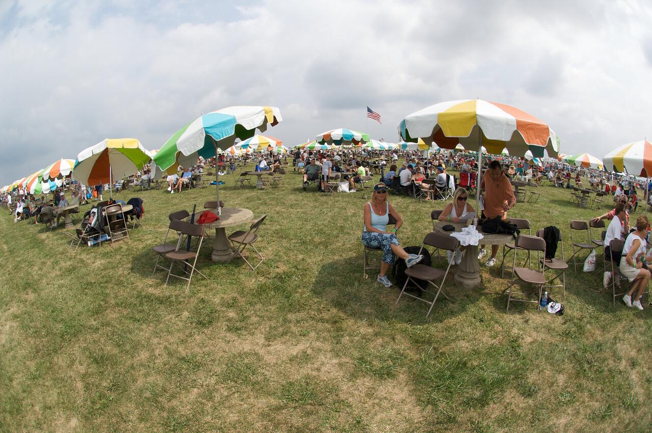 Dayton Air Show 2007, sous un soleil de plomb...