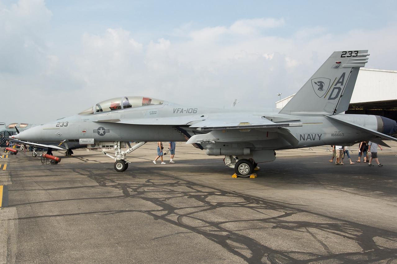 Dayton Air Show 2007, Mc Donnell Douglas / Boeing F-18
