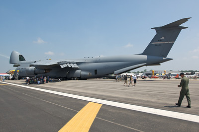Dayton Air Show 2007, Lockheed C-5B Galaxy