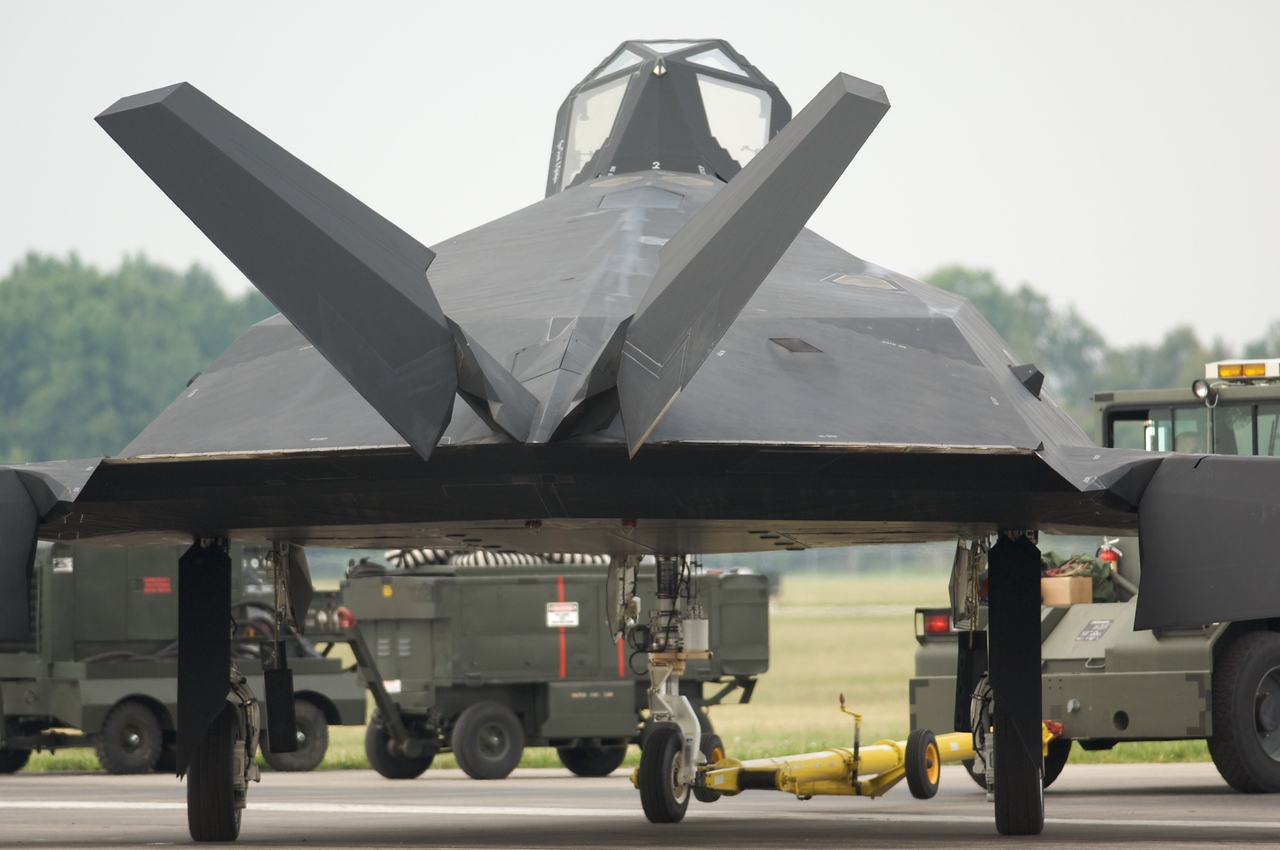 Dayton Air Show 2007, Lockheed F-117