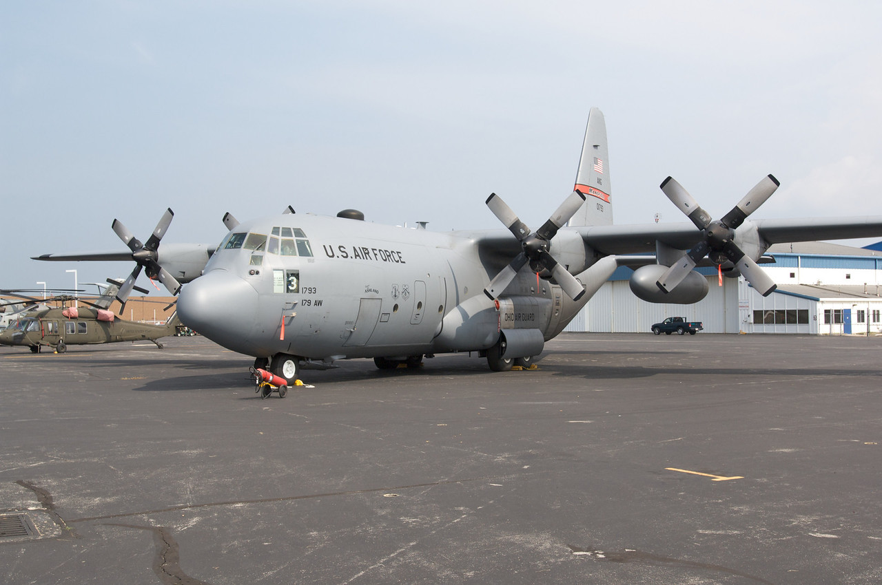 Dayton Air Show 2007, Lockheed C-130 Hercules