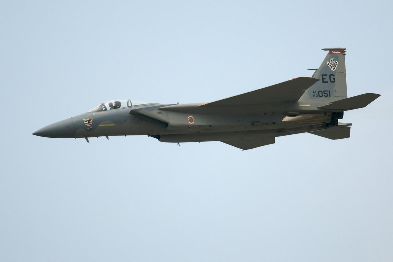 Dayton Air Show 2007, Boeing F-15 Eagle