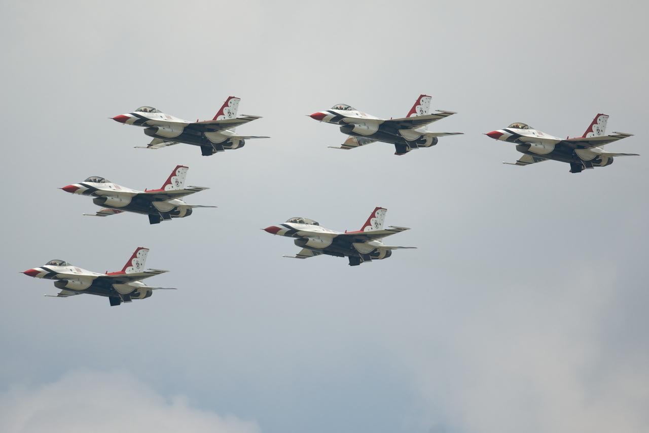 Dayton Air Show 2007, Thunderbirds F-16