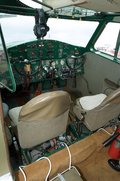 Dayton Air Show 2007, Cessna T-50 cockpit