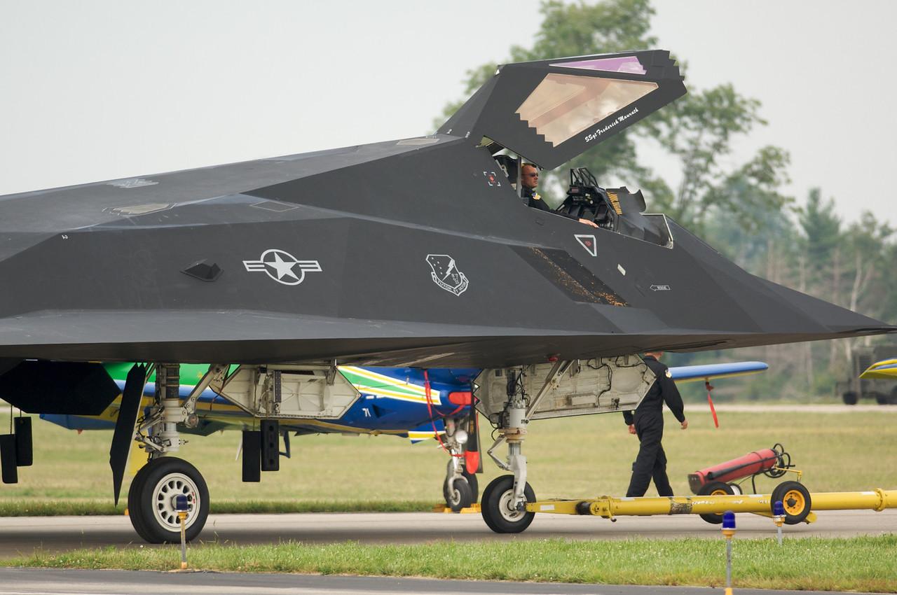Dayton Air Show 2007, Lockheed F-117