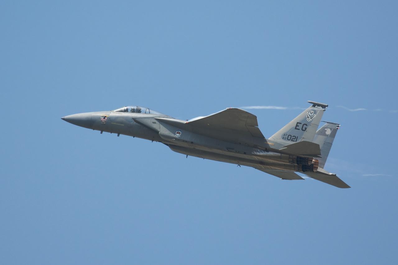 Dayton Air Show 2007, Mc Donnell Douglas F-15 Eagle