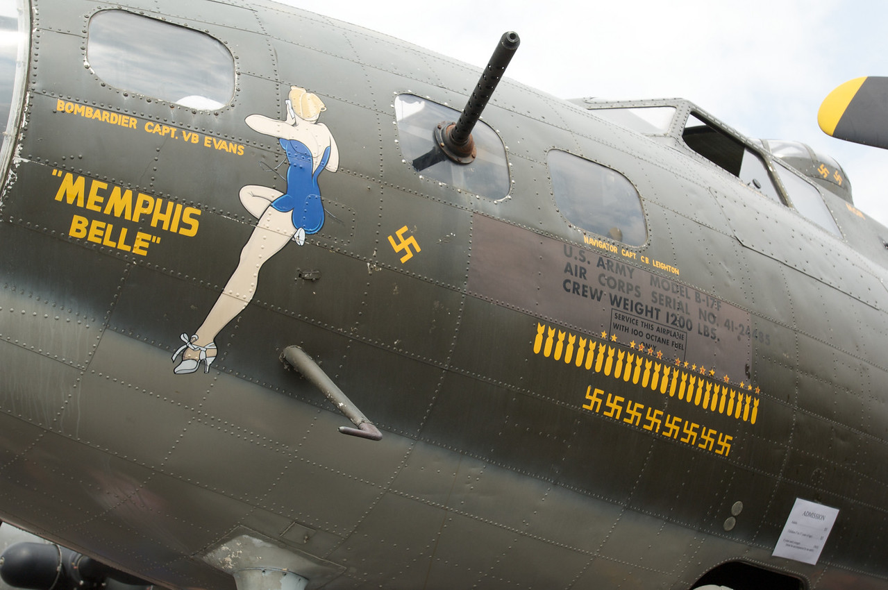 Dayton Air Show 2007, Boeing B-17 Superfortress