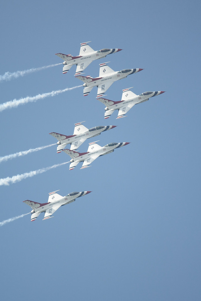 Dayton Air Show 2007, Thunderbirds F-16