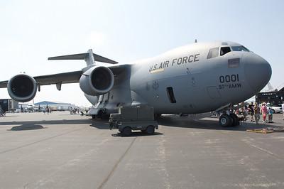Dayton Air Show 2007, Boeing C-17 Globemaster III