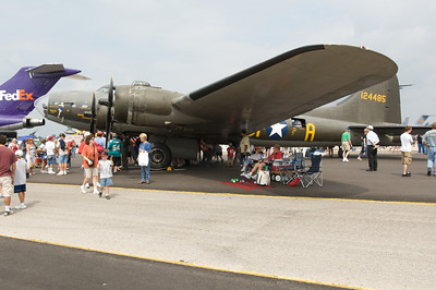 Dayton Air Show 2007, Boeing B-17 Superfortress