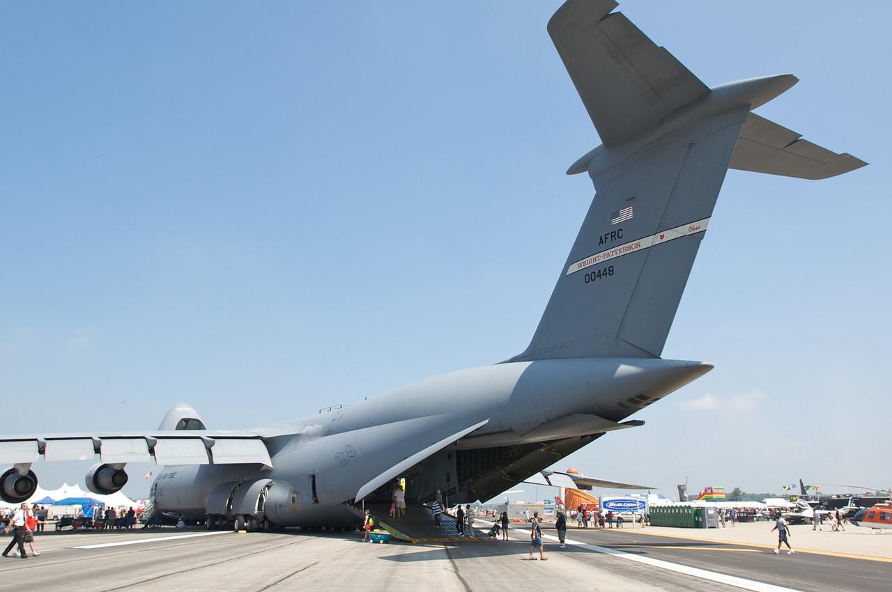 Dayton Air Show 2007, Lockheed C-5B Galaxy