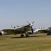 1941 - Supermarine Spitfire MkIa and 1944 - Supermarine Seafire LF III