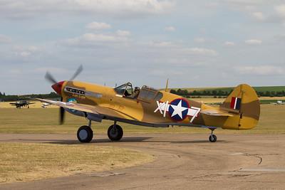 1941 - Curtiss Warhawk P40F