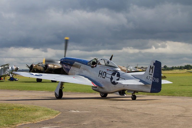 1944 - North American P-51D Mustang 'Miss Helen'