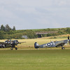 1944 Supermarine Seafire LF III and 1944 Grumman Wildcat FM-2