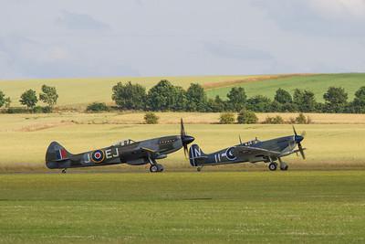 1944 - Supermarine Spitfire FR XIV and 1944 - Supermarine Seafire LF III
