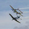 1944 - Lockheed P-38 Lightning - 1945 - Chance Vought F4U-4 'Corsair'