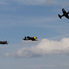 Balbo Finale - Grumman Bearcat  and 2  Chance Vought Corsair's