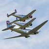 Douglas DC-3 and 2 Beechcraft Model 18
