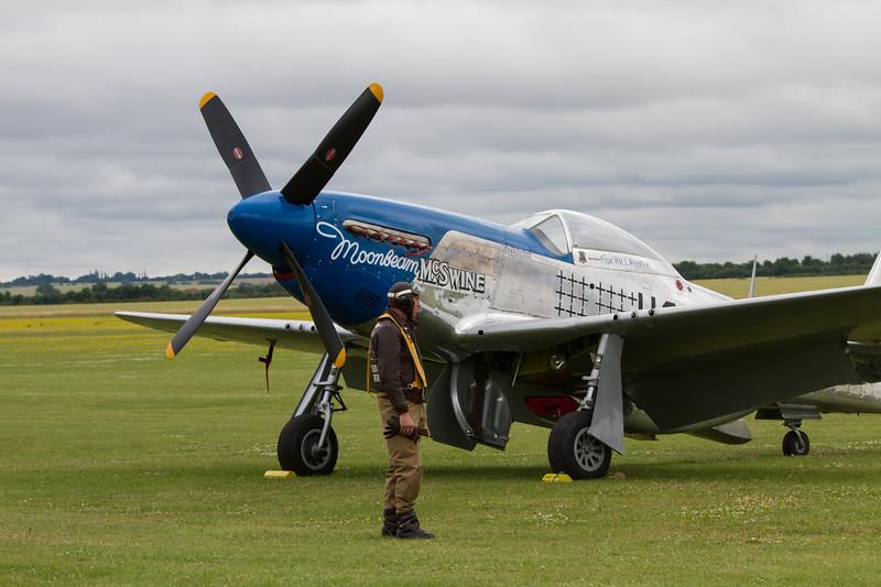 """1944 - North American P-51D Mustang """"Moonbeam"""""""