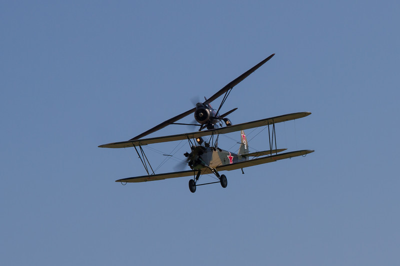 1944 - Polikarpov Po2 - 1936 - Westland Lysander