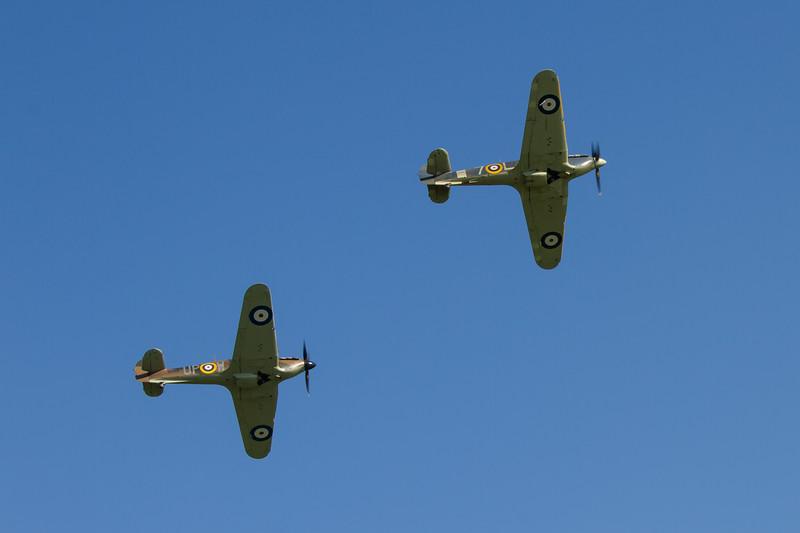 1940 - Hawker Hurricane Mk 1 & 1941 - Hawker Sea Hurricane Mk 1B