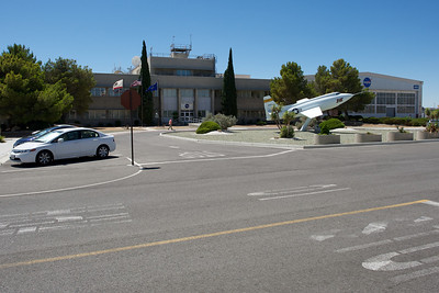 Edwards Air Force Base. NASA Dryden main building entrance.