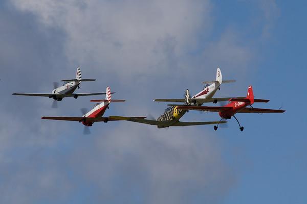 Aerostars YAK-50 Team