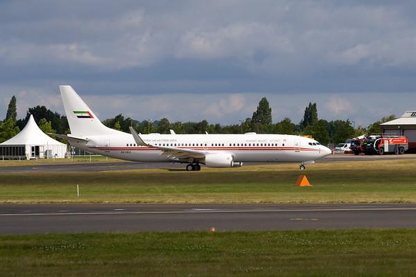 "Boeing 737-8AJ  ""United Arab Emirates"""