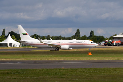"Boeing 737-8AJ  ""United Arab Emirates"""