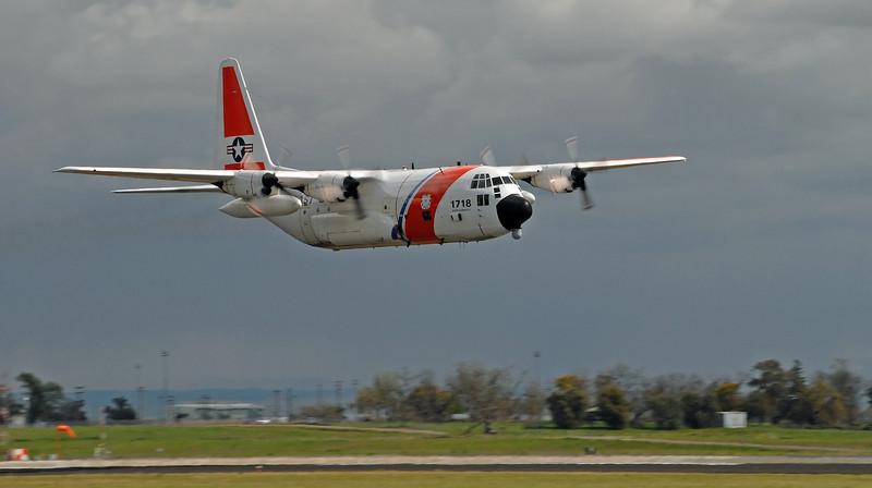 Coast Guard C-130, Capitol Air Show, Sacramento, 2008.