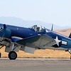 """My Number One reason for going to this show -- I've never seen a Corsair """"live"""" before, and it was worth the trip. My favorite warbird by far."""