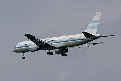 Argentine Air Force B-757-23A, T-10, Pittsburgh, PA. 9-24-09